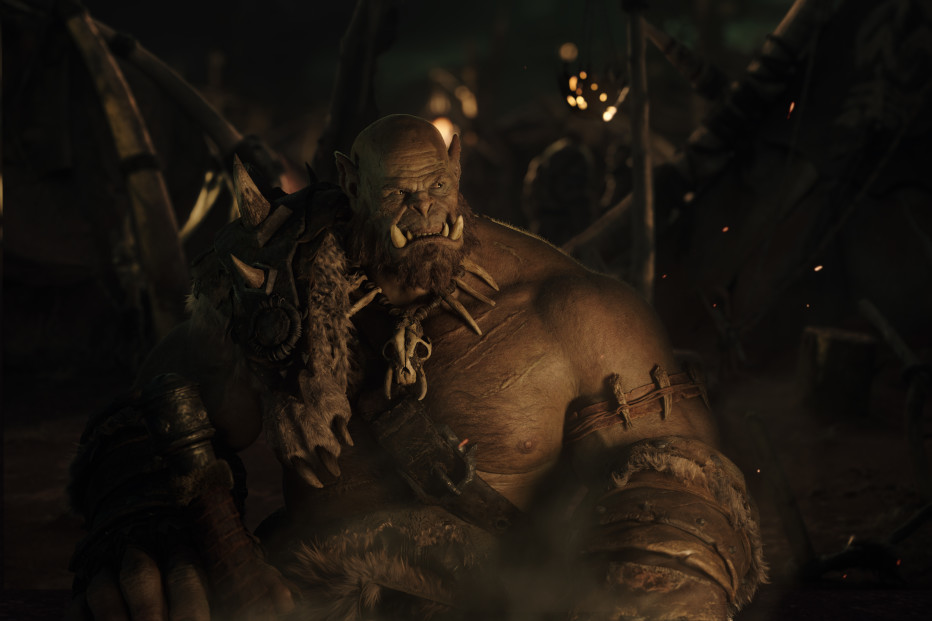 Ogrim Doomhammer Warcraft Movie