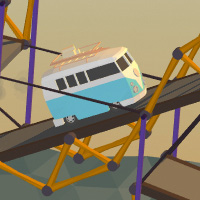 Poly Bridge Is a Pretty Little Game About Bridge Building