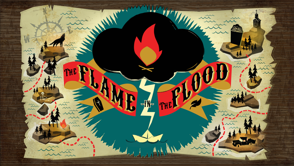 flame in the flood review