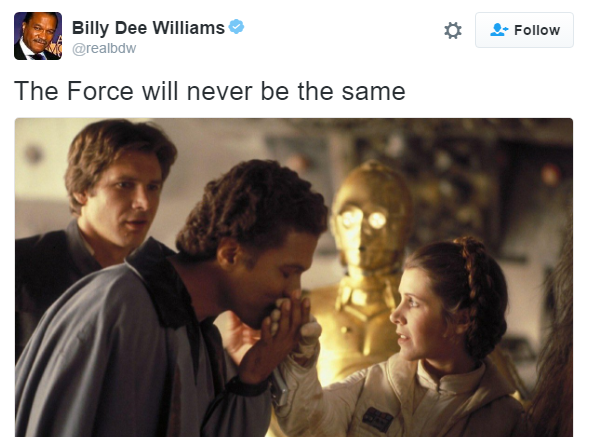 Star Wars Cast And Crew Tweet Tributes To Their Princess